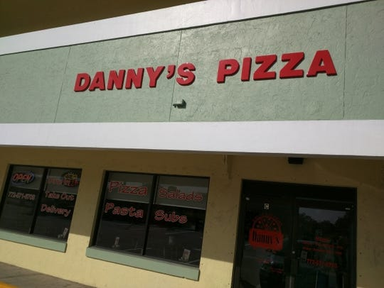 Danny's Pizza is a family enterprise with Mom and Dad