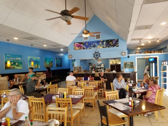 Sailfish Cafe is in the Stracuzzi Plaza in Stuart.