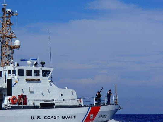 The Coast Guard rescued a 63-year-old man near the Fort Pierce Inlet on Thursday, Sept. 6, 2018.
