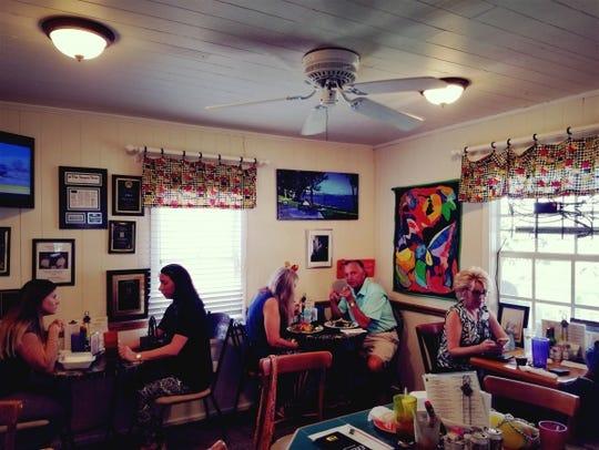Inside Ellie's Deli in Stuart.