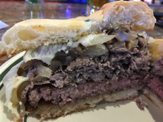 The Chubbies signature burger is a flavorful half-pound