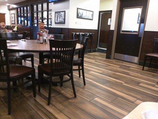 Recently beautified with rich wood flooring and woodwork,