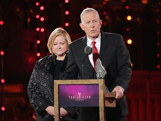 Judy and Dennis Shepard