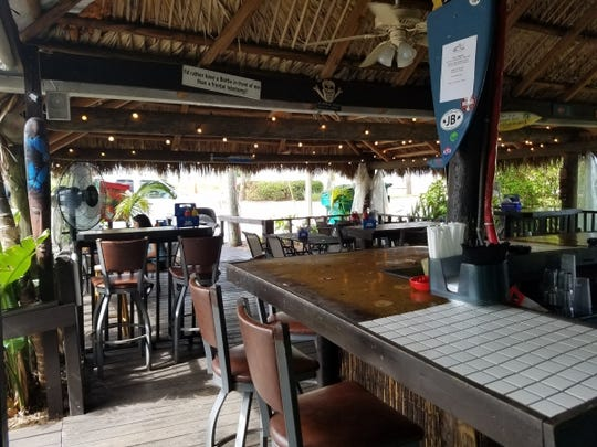 Kona Beach Cafe is participating in Taste of Jensen on Dec. 12 in downtown Jensen Beach. Pictured is the restaurant's main bar.