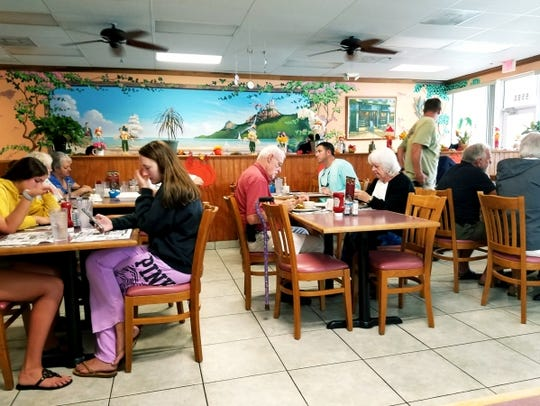 Galaxy Diner in Stuart was bustling on a recent Sunday