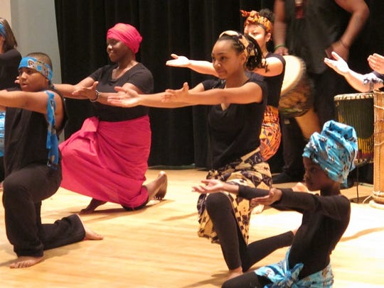 Free African dance workshops for children ages 7 and