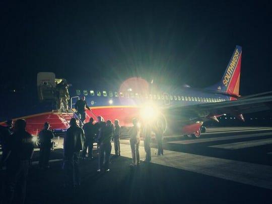 Scott Schieffer, a passenger on Southwest Airlines