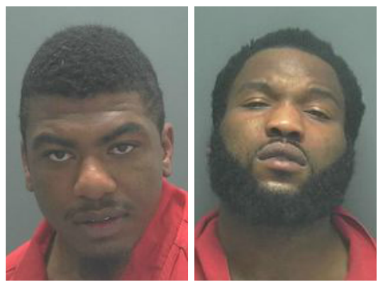 Cape Coral Police Detectives were able to establish probable cause to charge Jonas T. Griffin and Justin Diggs in the June 10, 2014 armed robbery that occurred at a Dollar General Store located at 924 NE Pine Island Road.