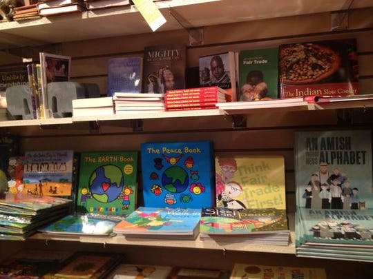 """Global Gifts at 446 Massachusetts Ave. offers """"fair trade"""" toys and gifts for children."""