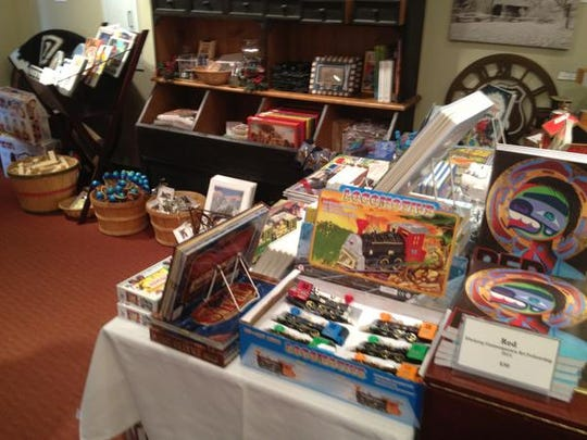 The Eiteljorg Museum gift shops offers Western-themed toys and gifts for young train lovers.