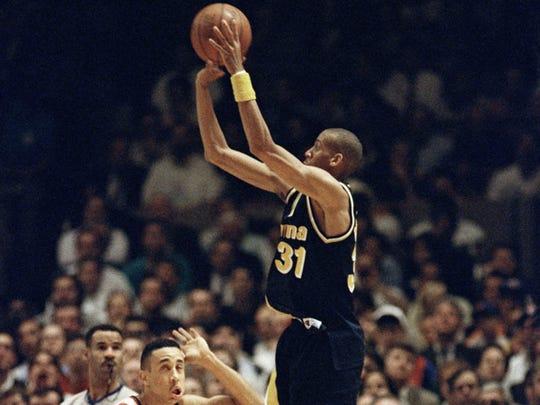 Reggie Miller against the Knicks.