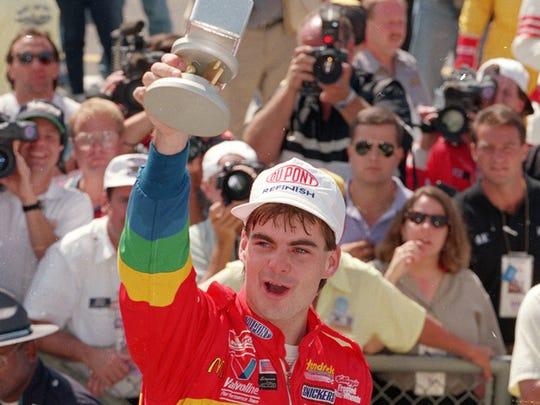 Jeff Gordon, 1994 Brickyard 400 champ