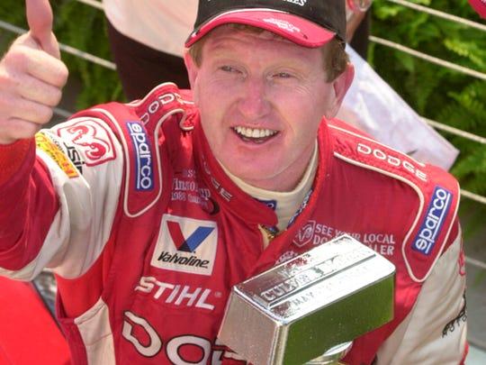 Bill Elliott, 2002 Brickyard 400 champ