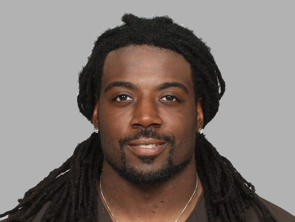 This is a 2014 photo of MarQueis Gray of the Cleveland Browns NFL football team. This image reflects the Cleveland Browns active roster as of Monday, June 2, 2014 when this image was taken. (AP Photo)