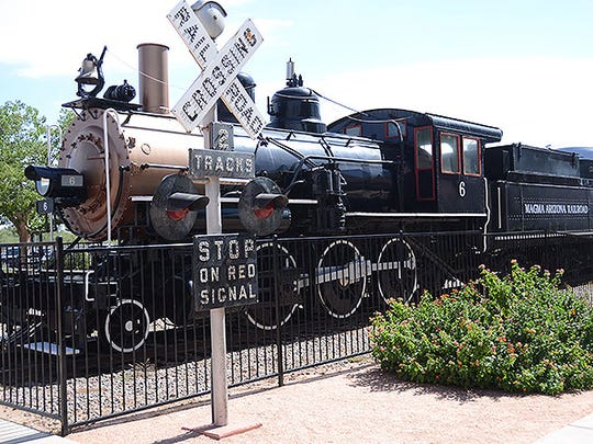 McCormick-Stillman Railroad Park in Scottsdale.
