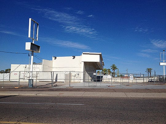 A property that formerly housed a  Circle K now is an eyesore in south Phoenix.