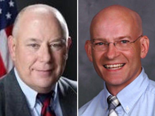 Kenneth Rohr, left, and Timothy Slisz.