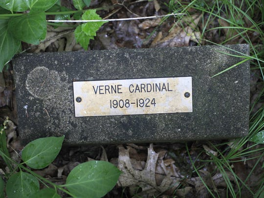 Verne Cardinal died on Oct. 10, 1924, in the school hospital of complications from an enlarged heart.