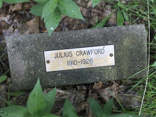 Julius Crawford suffered from tuberculosis for six years before dying in 1926. He was 16.