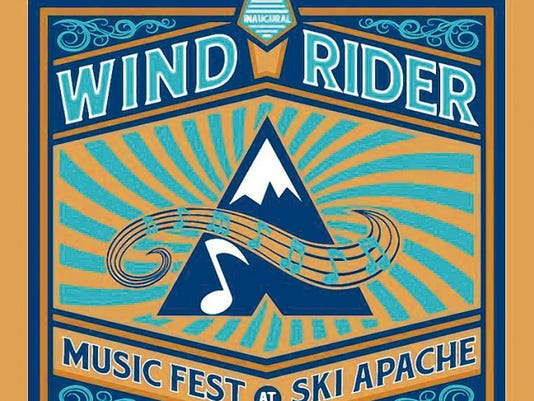 The Wind Rider Music Fest runs from 11 a.m. to 5 p.m. at Ski Apache, Saturday and Sunday.