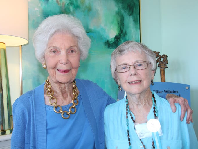 Elise Winter and Mary Louise Shaw