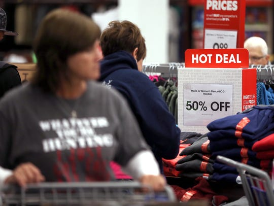 Residents hit stores on Black Friday morning for discounted