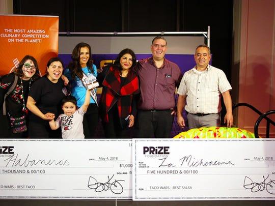 Habanero's is crowned taco champion and La Michoacana