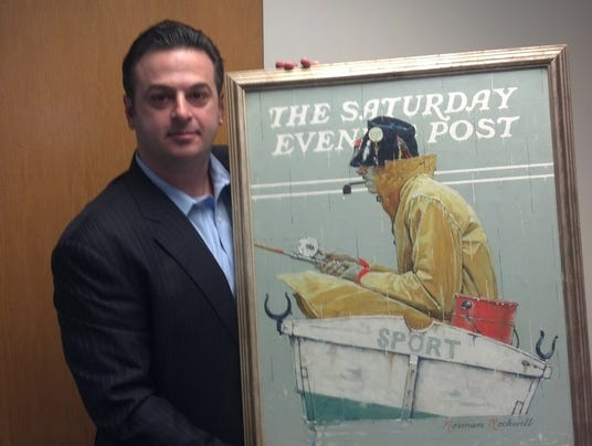 Rockwell painting found 031314