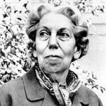 Author Eudora Welty of Jackson is shown in 1972 at an unknown location.