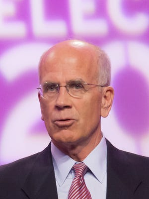 Incumbent Rep. Peter Welch, D-VT, appeared with his five challengers at a recent debate at Vermont Public Television's studios in Colchester.