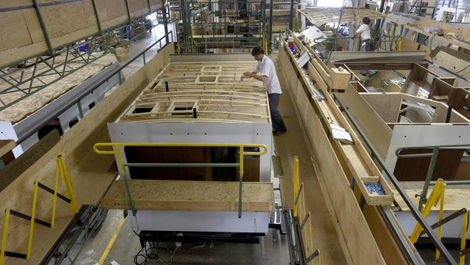 Elkhart has added about 10,000 manufacturing jobs in the past two years.