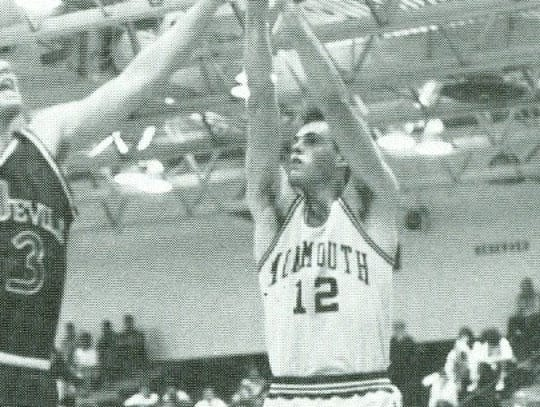 Monmouth guard Dave Calloway was a freshman in 1988