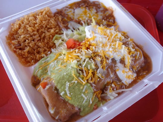 The Pack: Machaca Chimichanga at El Norteño Mexican