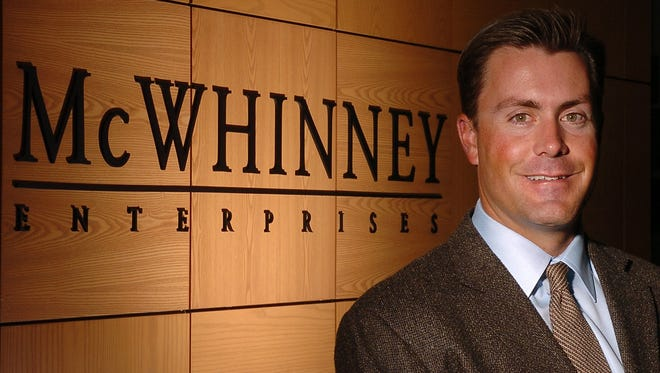 Chad McWhinney, president and CEO of Loveland-based McWhinney poses for a portrait in this file photo.