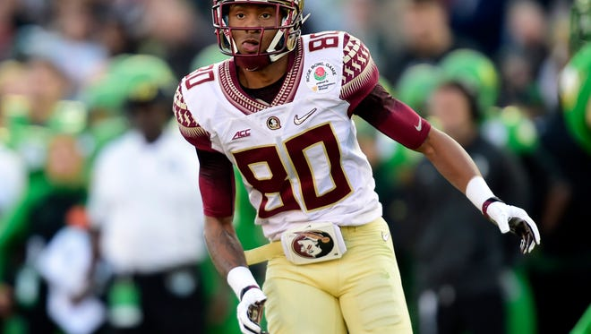 Florida State will look to replace the ACC's all time receptions leader in Rashad Greene.