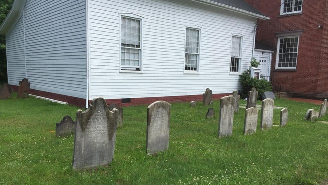 The church's first five ministers, who served there for more than 150 combined years, are all buried at Tappan Reformed Church.
