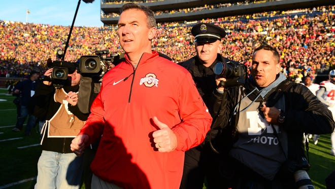 Ohio State head coach Urban Meyer lobbied on behalf of the Southeastern Conference and strength-of-schedule in 2006 when he was head coach at Florida, but he's on the other side with his Buckeyes' eyeing a berth in the BCS title game.