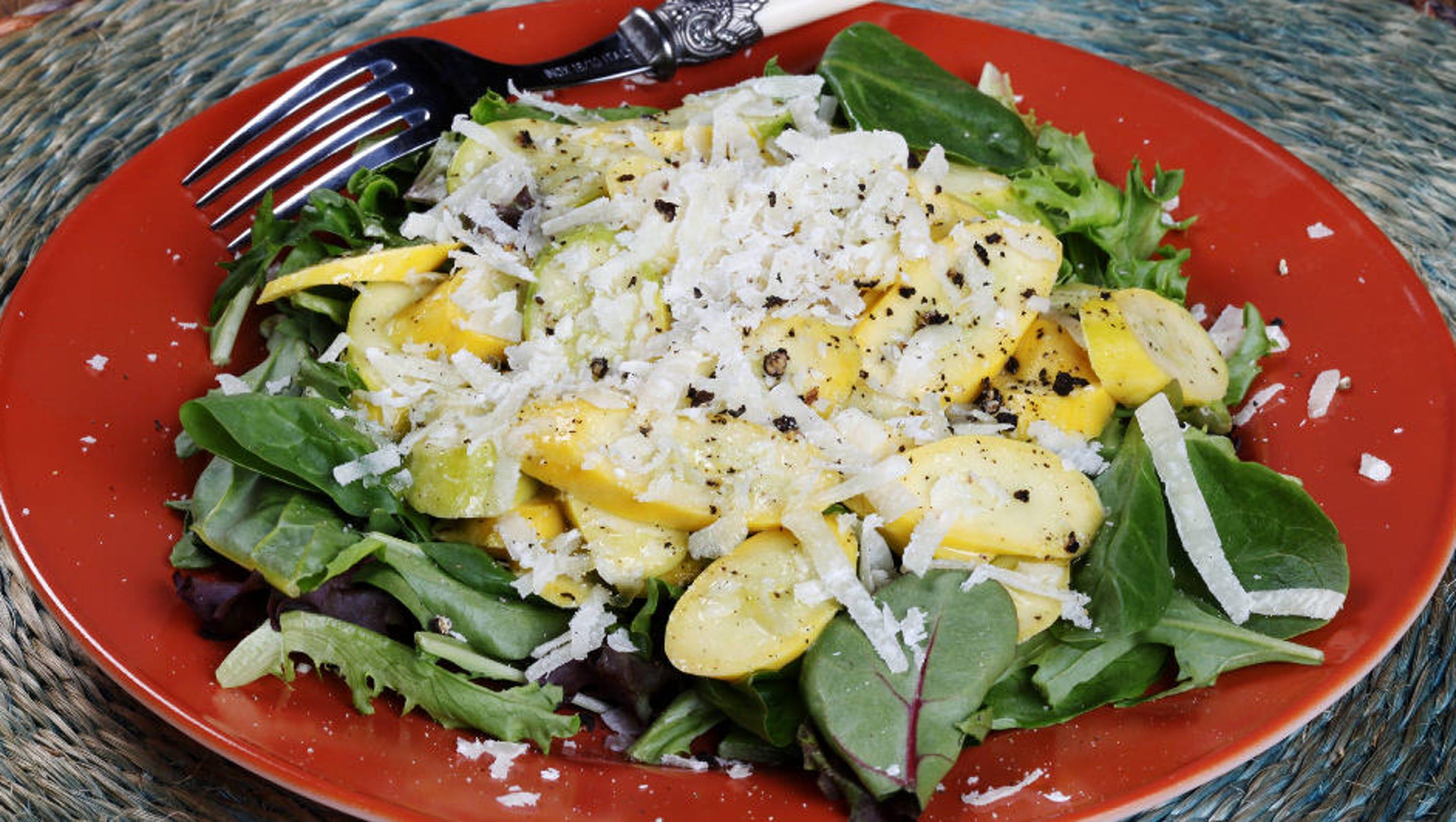 Zucchini carpaccio [Recipe]