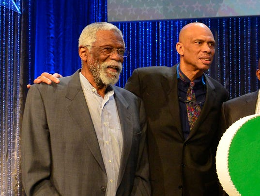USP NBA: ALL STAR GAME-LEGENDS BRUNCH S BKN USA LA