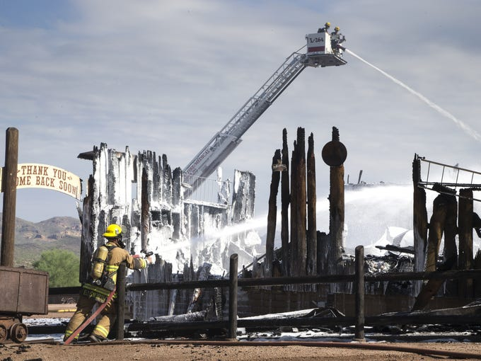 apache junction s mining camp won t reopen after devastating fire