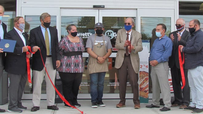 The Cape Cod Chamber of Commerce and Rep. Will Crocker recently held a ribbon-cutting for the new Garrett's Family Market on Route 28 in Centerville, across the street from the Bell Tower Mall. Owned by parent company Volta Oil, the new convenience store and gas station are open daily from 4 a.m. to 1 a.m. Stop by for Saturday's socially distanced grand opening 10 a.m.-2 p.m.