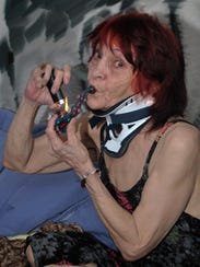 Grandma Smoking Marijuana