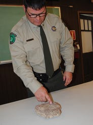 Lake Arrowhead State Park Superintendent Keith Gauthier