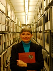 Peggy Roske became the full-time archivist for the