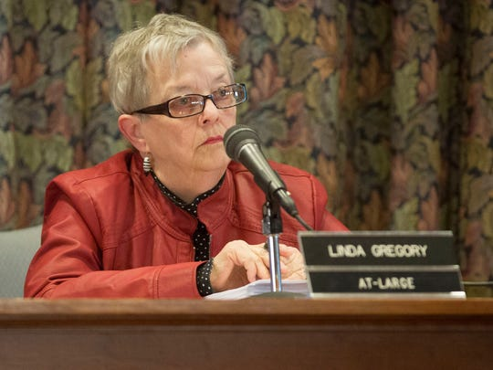 Linda Gregory, a member of the Muncie City Council,