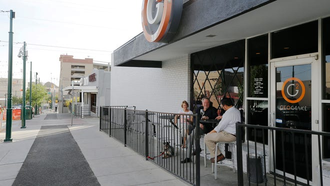 The city has amended its sidewalk cafe ordinance to allow for outdoor patios on Cincinnati Street in Kern Place.