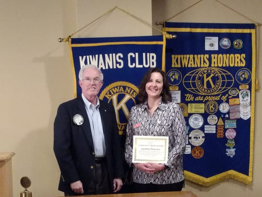 David McCaghren, president of the Kiwanis Club of Greater
