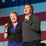 Christian duo Jeff and Sheri Easter perform at 7:30 p.m. Good Friday, April 3, at the Smoky Mountain Center for the Performing Arts in Franklin.