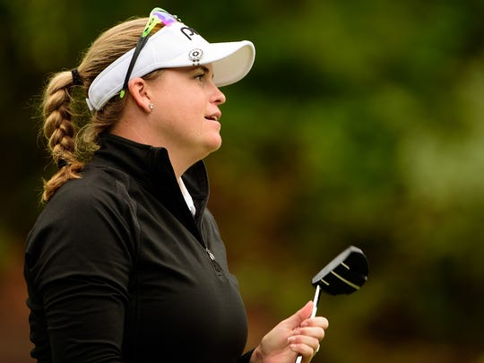Jackie Stoelting, a Vero Beach High School graduate and Fort Pierce resident, will be competing in the LPGA Tour's first major of the year, the ANA Inspiration, starting on Thursday. This file photo was taken in 2015.