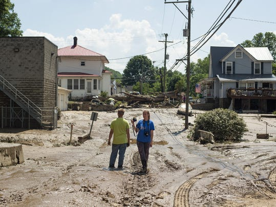 BESTPIX - Historic Flooding Leaves Over 20 Dead In West Virginia